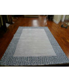 RugStudio presents Safavieh Soho Soh439b Silver / Grey Hand-Tufted, Better Quality Area Rug