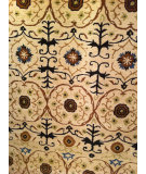 RugStudio presents Safavieh Soho Soh446a Ivory / Multi Hand-Tufted, Better Quality Area Rug
