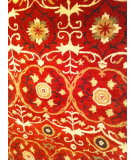 RugStudio presents Safavieh Soho Soh446b Red / Multi Hand-Tufted, Better Quality Area Rug