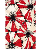 RugStudio presents Safavieh Soho Soh729a Black / Red Hand-Tufted, Good Quality Area Rug