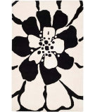 RugStudio presents Safavieh Soho Soh730a Black / White Hand-Tufted, Good Quality Area Rug