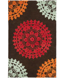 RugStudio presents Safavieh Soho Soh732a Brown / Multi Hand-Tufted, Good Quality Area Rug