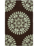 RugStudio presents Safavieh Soho Soh732c Brown / Teal Hand-Tufted, Good Quality Area Rug