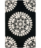 RugStudio presents Safavieh Soho Soh732d Black / Ivory Hand-Tufted, Good Quality Area Rug