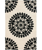 RugStudio presents Safavieh Soho Soh732g Ivory / Black Hand-Tufted, Good Quality Area Rug