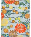 RugStudio presents Safavieh Soho Soh738b Blue / Multi Hand-Tufted, Good Quality Area Rug