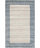 RugStudio presents Safavieh Soho Soh739b Silver / Grey Hand-Tufted, Good Quality Area Rug