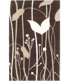 RugStudio presents Safavieh Soho Soh746d Dark Brown / Multi Hand-Tufted, Better Quality Area Rug