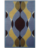 RugStudio presents Safavieh Soho Soh762b Blue / Multi Hand-Tufted, Better Quality Area Rug