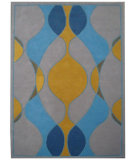 RugStudio presents Safavieh Soho Soh762c Grey / Multi Hand-Tufted, Better Quality Area Rug