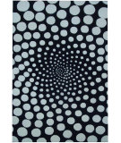 RugStudio presents Safavieh Soho Soh766b Black / Ivory Hand-Tufted, Better Quality Area Rug