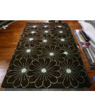 RugStudio presents Safavieh Soho Soh768c Brown / Teal Hand-Tufted, Better Quality Area Rug