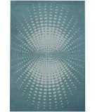 RugStudio presents Safavieh Soho Soh769a Blue / Ivory Hand-Tufted, Better Quality Area Rug