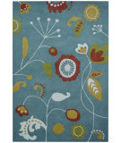 RugStudio presents Safavieh Soho Soh772a Light Blue / Multi Hand-Tufted, Better Quality Area Rug