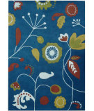 RugStudio presents Safavieh Soho Soh772b Dark Blue / Multi Hand-Tufted, Better Quality Area Rug