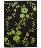 RugStudio presents Safavieh Soho Soh774a Brown / Green Hand-Tufted, Better Quality Area Rug