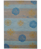 RugStudio presents Safavieh Soho Soh777a Blue / Multi Hand-Tufted, Better Quality Area Rug