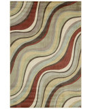 RugStudio presents Safavieh Soho Soh779a Light Green / Multi Hand-Tufted, Better Quality Area Rug