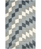 RugStudio presents Safavieh Soho SOH782B Light Grey / Ivory Hand-Tufted, Good Quality Area Rug