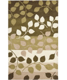 RugStudio presents Rugstudio Sample Sale 66402R Green / Beige Hand-Tufted, Better Quality Area Rug