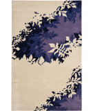 RugStudio presents Safavieh Soho Soh786a Beige / Purple Hand-Tufted, Better Quality Area Rug