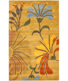 RugStudio presents Rugstudio Sample Sale 47282R Golden Olive Hand-Tufted, Better Quality Area Rug