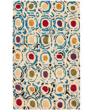 RugStudio presents Safavieh Soho Soh828a Ivory / Multi Hand-Tufted, Better Quality Area Rug