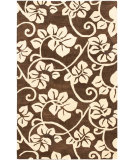 RugStudio presents Safavieh Soho Soh829a Brown / Ivory Hand-Tufted, Better Quality Area Rug