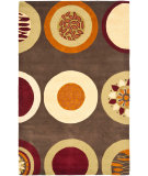 RugStudio presents Safavieh Soho Soh835a Brown / Multi Hand-Tufted, Better Quality Area Rug
