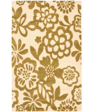 RugStudio presents Safavieh Soho Soh837a Beige / Green Hand-Tufted, Better Quality Area Rug