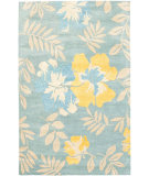 RugStudio presents Safavieh Soho Soh838b Blue / Multi Hand-Tufted, Better Quality Area Rug