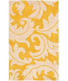 RugStudio presents Safavieh Soho Soh841a Gold / Ivory Hand-Tufted, Better Quality Area Rug