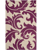 RugStudio presents Safavieh Soho SOH841B Purple / Beige Hand-Tufted, Good Quality Area Rug