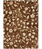RugStudio presents Safavieh Soho Soh843a Brown / Ivory Hand-Tufted, Better Quality Area Rug