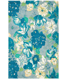 RugStudio presents Safavieh Soho Soh849a Blue / Multi Hand-Tufted, Better Quality Area Rug