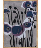 RugStudio presents Safavieh Soho Soh853a Grey / Blue Hand-Tufted, Better Quality Area Rug