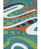 RugStudio presents Safavieh Soho Soh856a Teal / Multi Hand-Tufted, Better Quality Area Rug