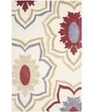 RugStudio presents Safavieh Soho Soh857b Ivory / Multi Hand-Tufted, Good Quality Area Rug