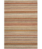 RugStudio presents Safavieh Striped Kilim STK311A Beige Flat-Woven Area Rug