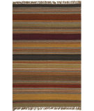 RugStudio presents Safavieh Striped Kilim STK315A Gold Flat-Woven Area Rug