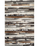 RugStudio presents Safavieh Studio Leather Stl215a Ivory / Brown Area Rug