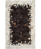 RugStudio presents Safavieh Studio Leather Stl215b Ivory / Dark Brown Area Rug