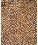 RugStudio presents Safavieh Studio Leather STL517B Brown / Light Brown Area Rug
