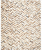 RugStudio presents Safavieh Studio Leather STL519A Grey / Multi Area Rug