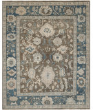 RugStudio presents Safavieh Sultanabad Sul1073a Blue Hand-Knotted, Good Quality Area Rug