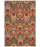 RugStudio presents Safavieh Sumak SUM438A Red / Green Flat-Woven Area Rug
