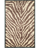 RugStudio presents Safavieh Tibetan TB264A Black / Ivory Hand-Knotted, Best Quality Area Rug