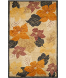 RugStudio presents Safavieh Tibetan TB518A Black / Rust Area Rug