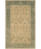 RugStudio presents Safavieh Taj Mahal TJM116A Beige / Blue Hand-Tufted, Good Quality Area Rug