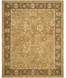 RugStudio presents Safavieh Taj Mahal TJM125B Gold / Chocolate Hand-Tufted, Best Quality Area Rug